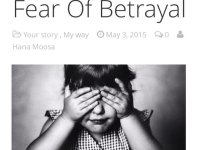 Fear Of Betrayal