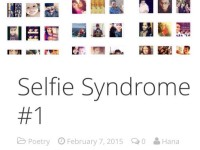 Selfie Syndrome #1